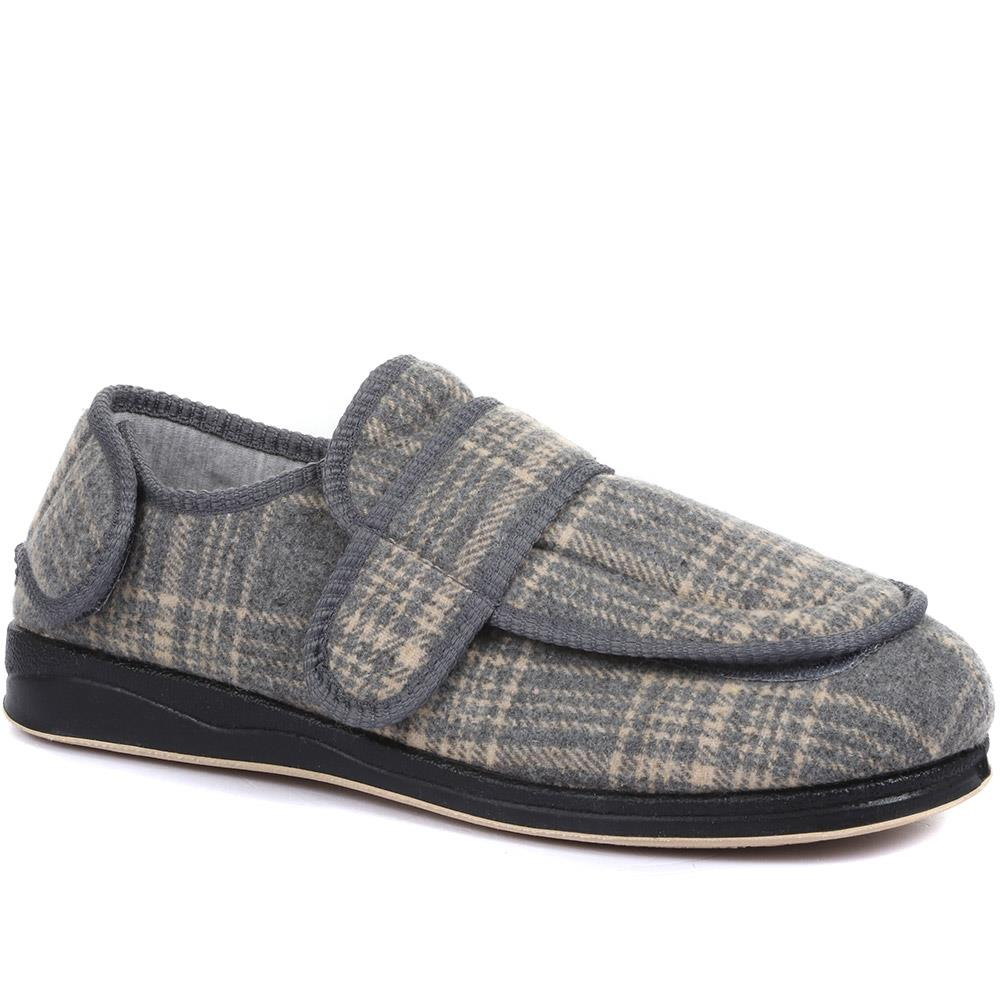 Touch Fasten Slippers (QING26001) by Pavers @ Pavers Shoes - Your Perfect Style.