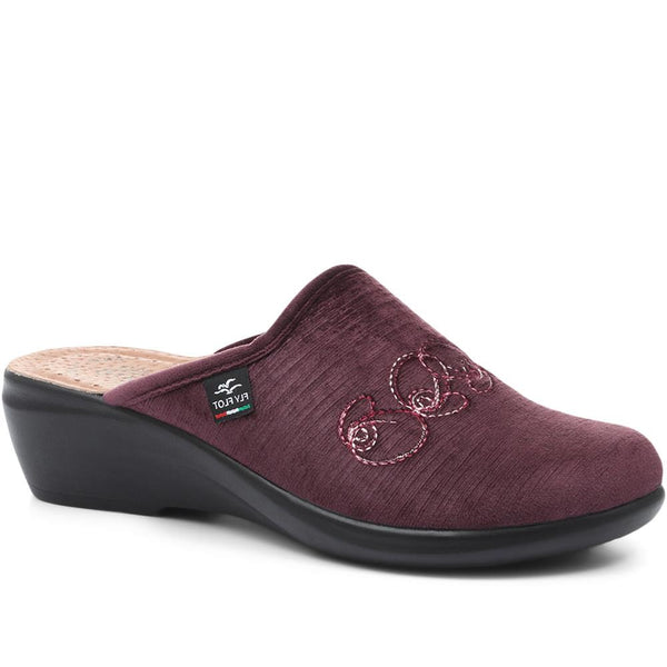 Wide Fit Slipper Clogs (FLY32055) by