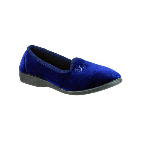 Navy Simone Slipper