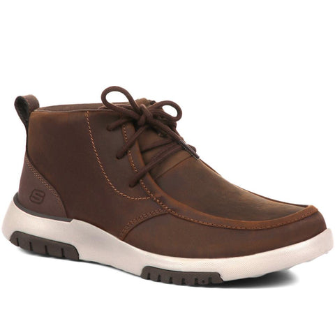 Brown Bellinger 2.0 Trembo Leather Lace-Up Boot
