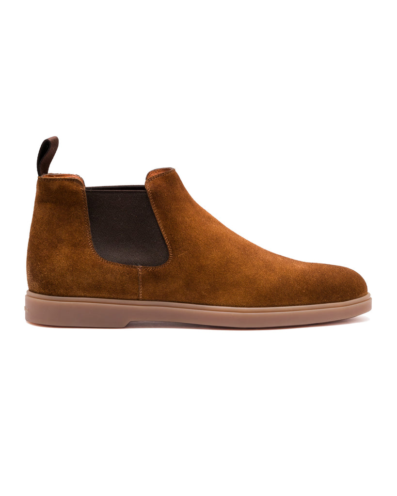 Chelsea Boot, Veloursleder
