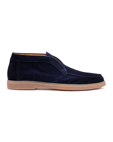 Slip-On, Veloursleder