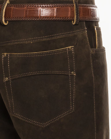 Lederhose, 5-Pocket