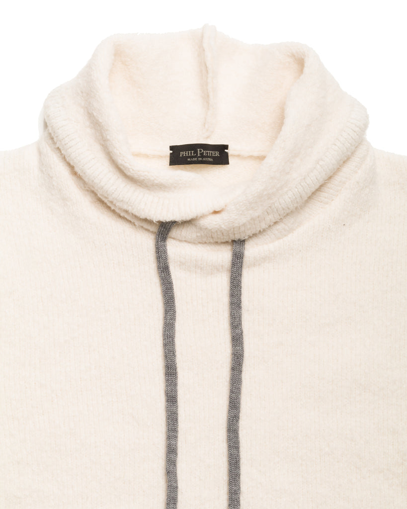 Sweater Faux Hood