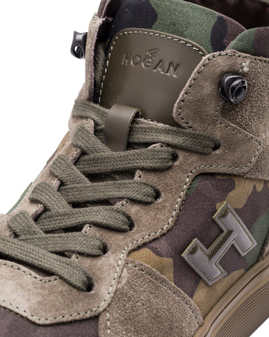 High-Top Sneakers, Camo