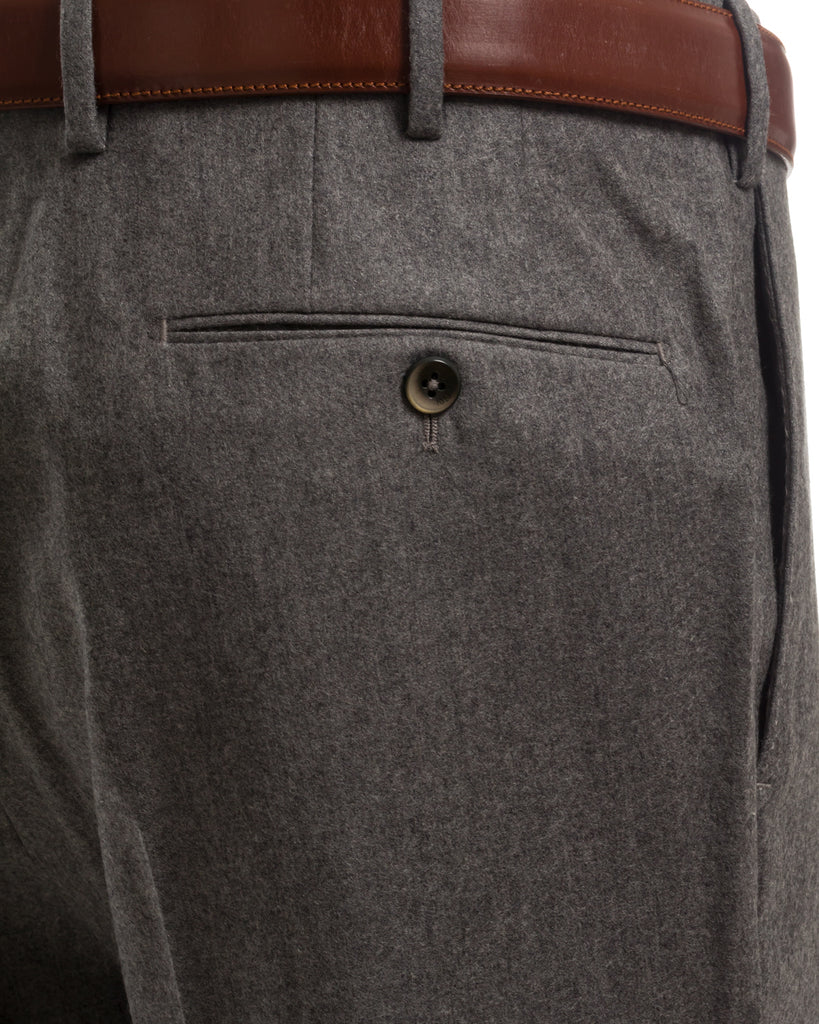 Flanellhose, Slim Fit