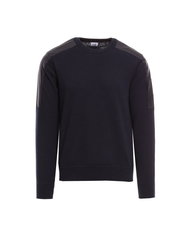 Pullover, Materialmix
