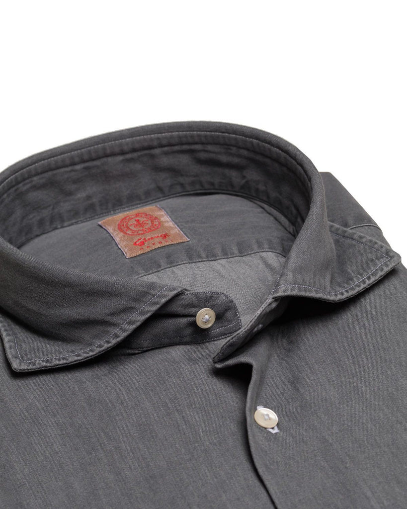 Casual-Hemd, Chambray