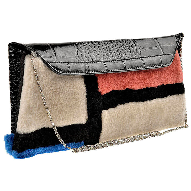 Fur Bag Mondrian