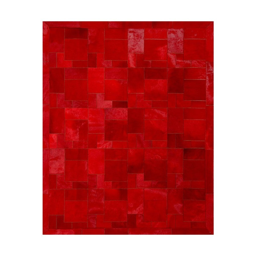 Cowhide Rug Red (Rosso) Puzzle