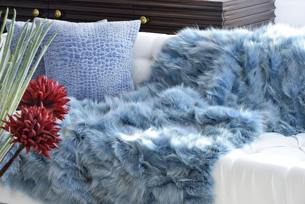 Coyote Blue Throw