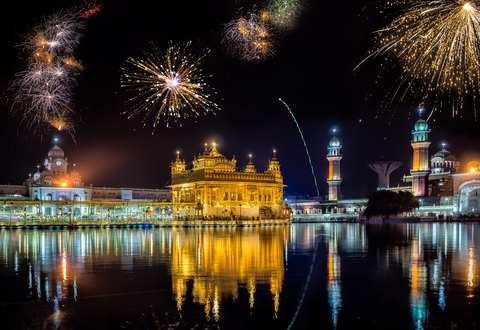Diwali Fireworks at Golden Temple