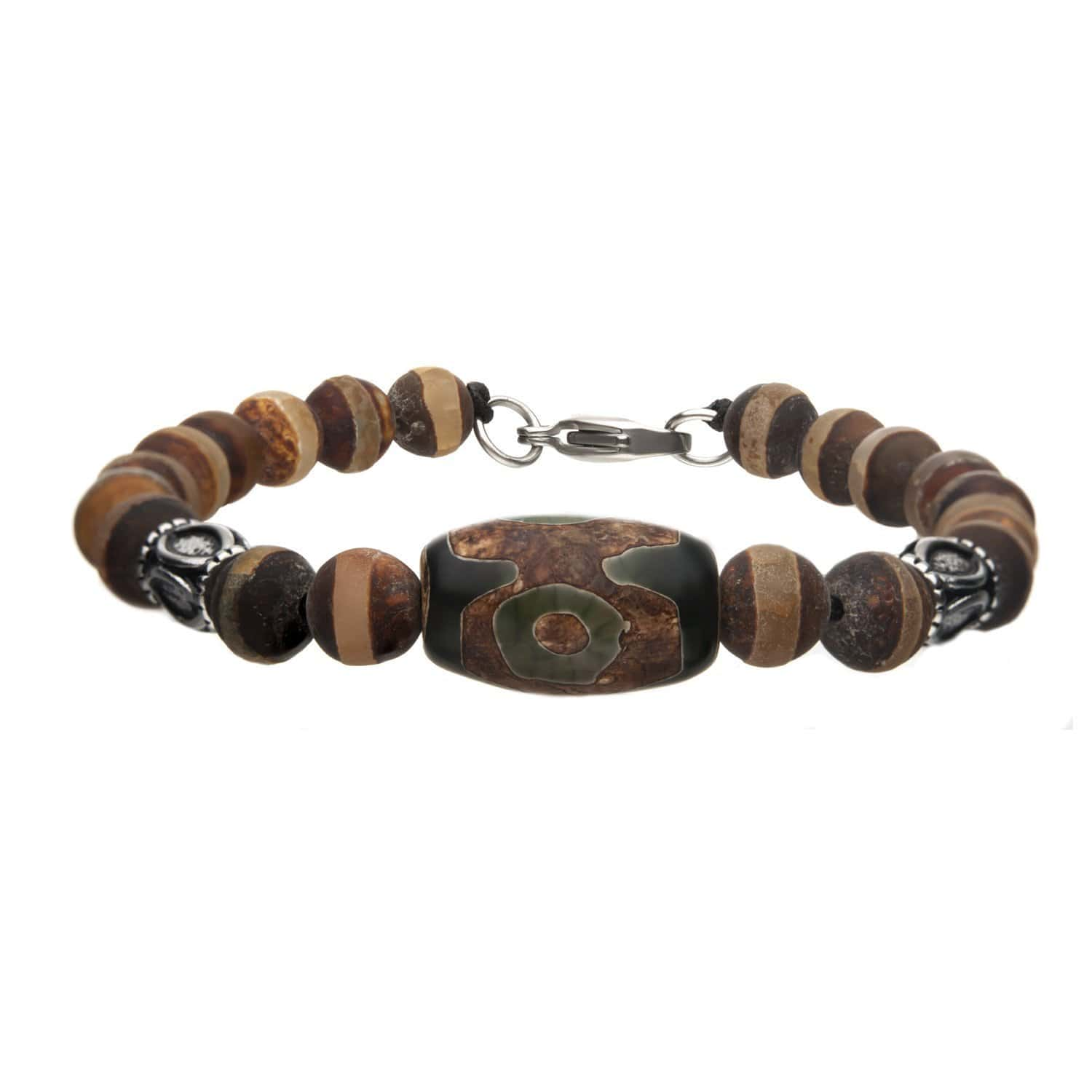 Brown Agate stone Br 8.25""""