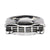 Darkened Silver Stainless Steel Classic Car Grille Ring Rings