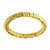 Gold Stainless Steel 2.5mm Hammered Wedding Band Rings
