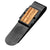 Gray Stainless Steel Inlayed Zebra Wood Money Clip Accessories