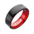RED STL FLAT IP BLACK RING11