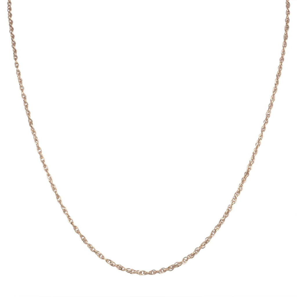 Rose Gold Stainless Steel 2mm Singapore Chain