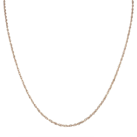 Rose Gold Stainless Steel 2mm Singapore Chain Chains
