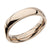 Rose Gold Stainless Steel Polished 4mm Band