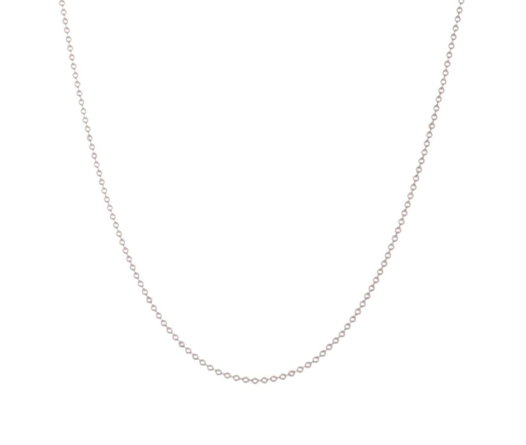 Silver Stainless Steel 1.6 mm Ball Chain Chains
