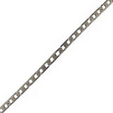Silver Stainless Steel 2mm Mariner Link Chain