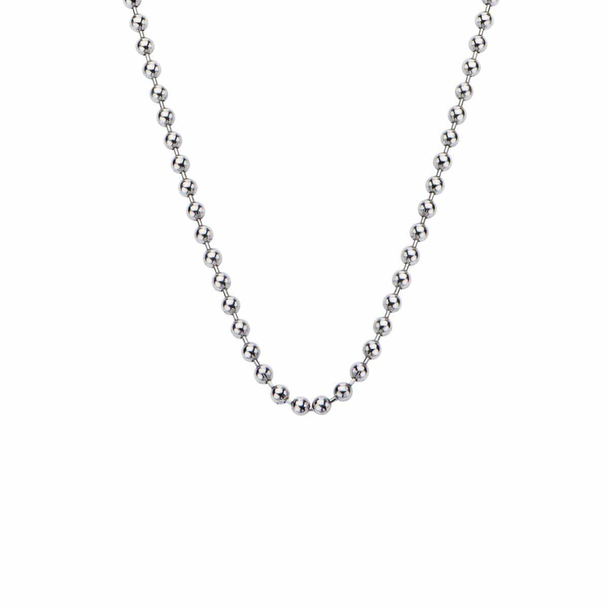 Silver Stainless Steel 3mm Ball Chain Chains