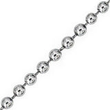 Silver Stainless Steel 3mm Ball Chain