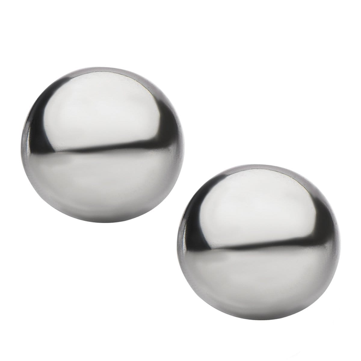 Silver Stainless Steel Small Round Dome Studs