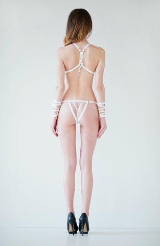Lustful Thong - white