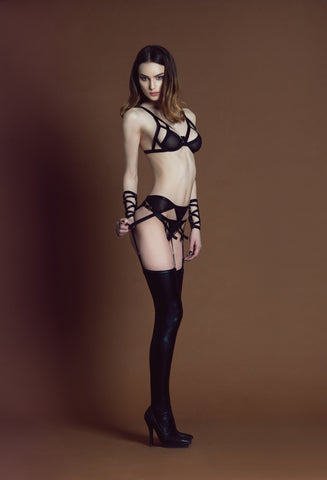 Lilith Suspender - with tulle