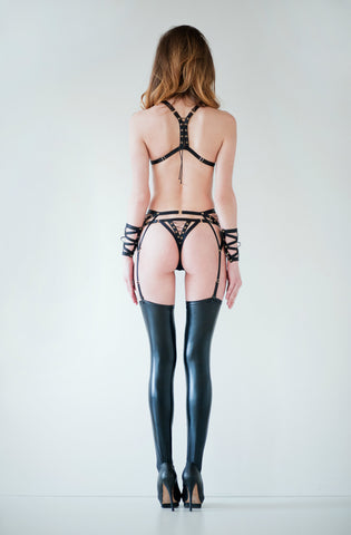 Lustful Thong - black
