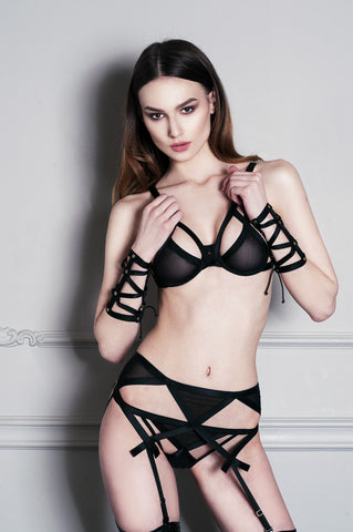 Lamia high-waist knicker