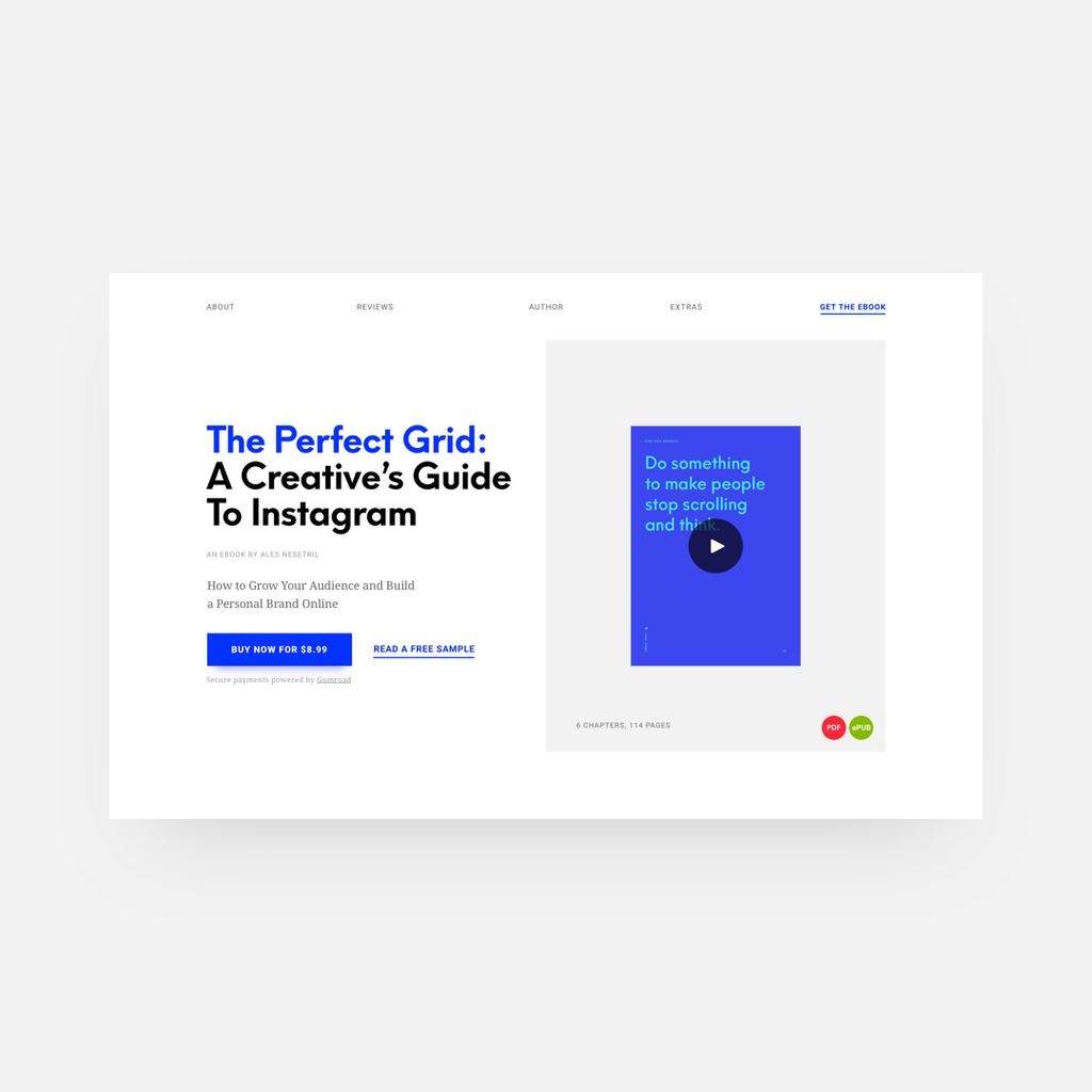The Perfect Grid: A Creative's Guide To Instagram