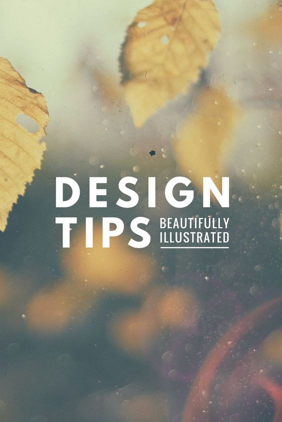 50 Tips To Make You A Better Designer