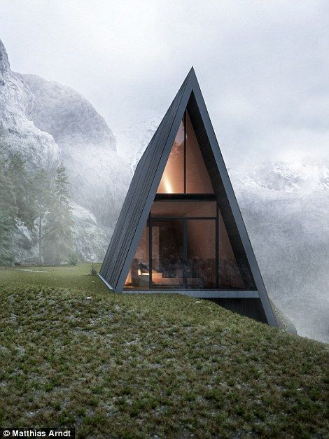 This Triangular House is Stunning