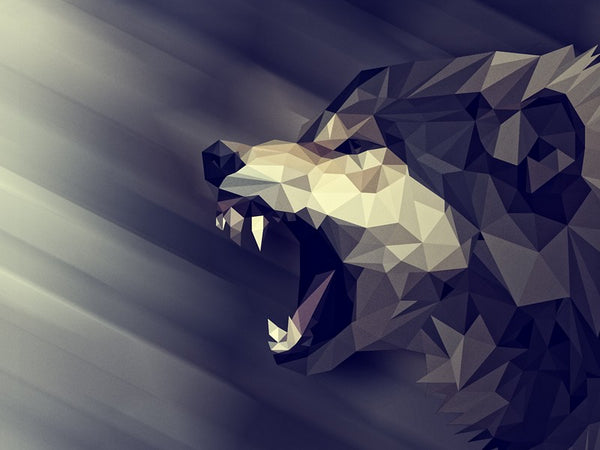 Babylon js low poly