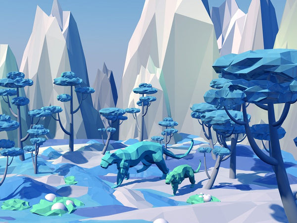 Low poly design inspiration