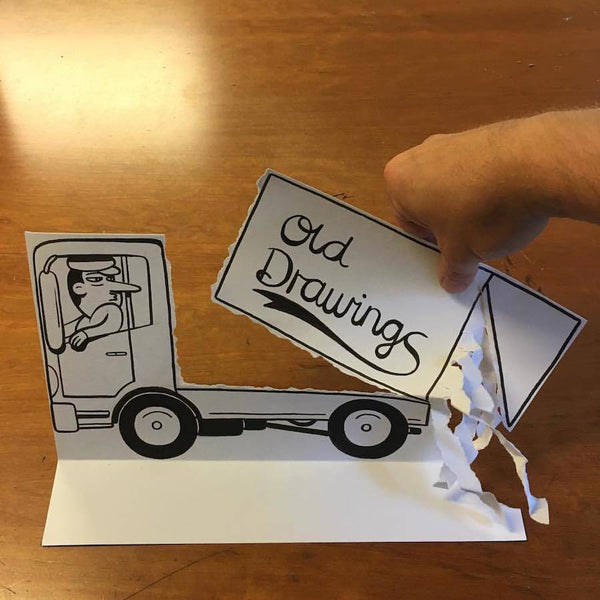 Inventive and Hilarious 3D Paper Cuts