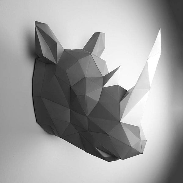 Paper Animal Trophies