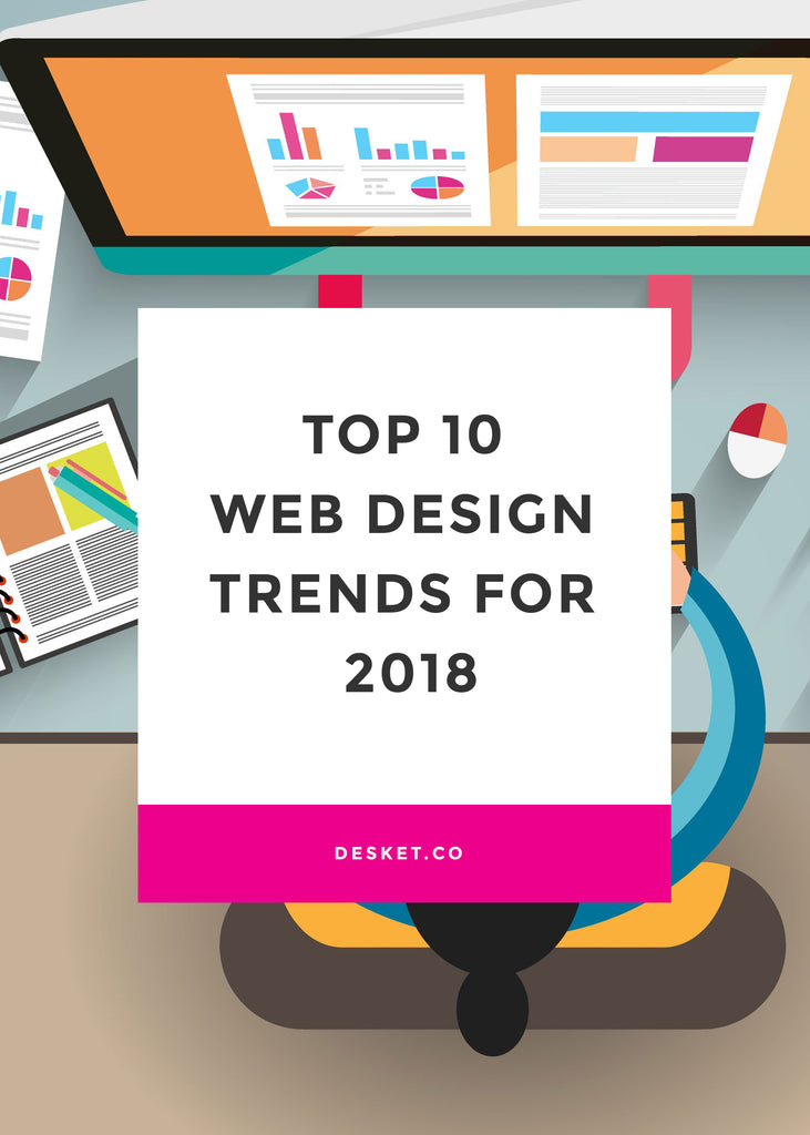 Top 10 Graphic Design Trends 2018:  Cheapest Mugs on the Internetrh:desket.co,Design