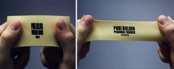 Innovative business card designs