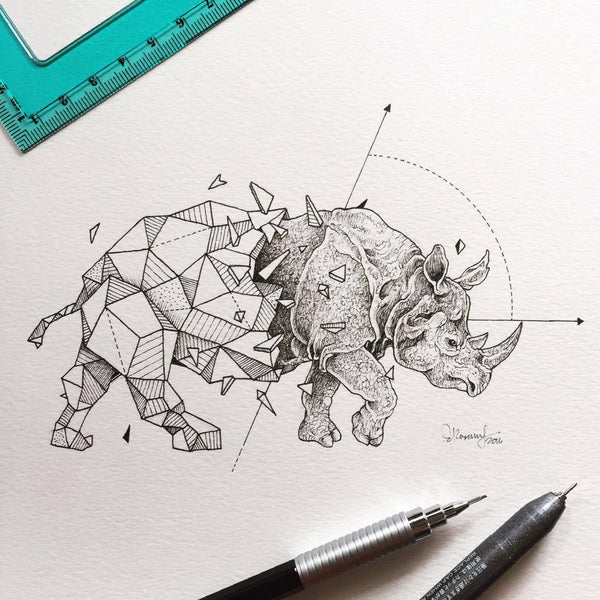 Geometric Beasts Collection.