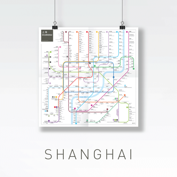 Beautiful Metro Maps of World's Main Cities