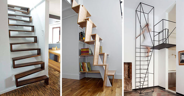 10 Stair Design Ideas For Small Spaces