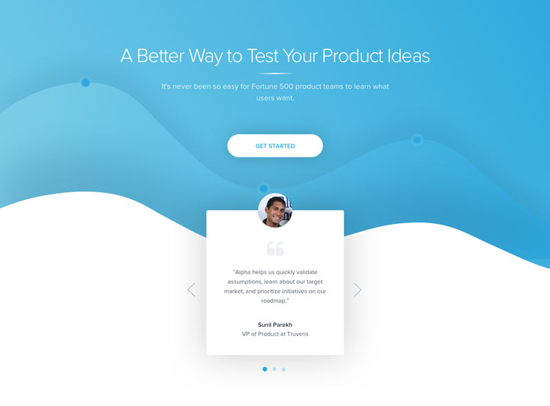 Product Features Landing Page By Charles Haggas Design Agency Homepage