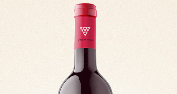 Psd Wine Bottle Mockup - Design Resources