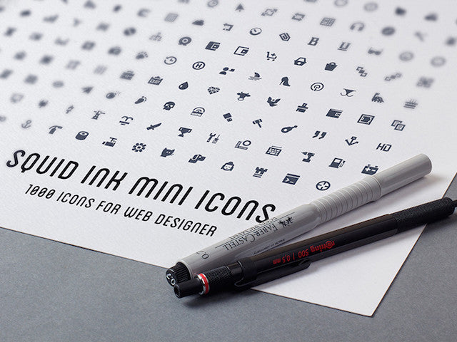 1000 Vector Icons Pack - Design Resources