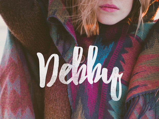 Debby free font - Design Resources