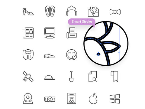 100 line icons - Design Resources
